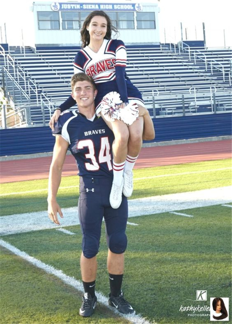 Perfect Football Player And Cheerleader Couple Pictures You Dream To Have; Football Player Boyfriend; Cheerleader Girlfriend; Football Player And Cheerleader Couple; Couple Goal; Football Player And Cheerleader; Player And Cheerleader;#relationship #relationshipgoal #couple #couplegoal