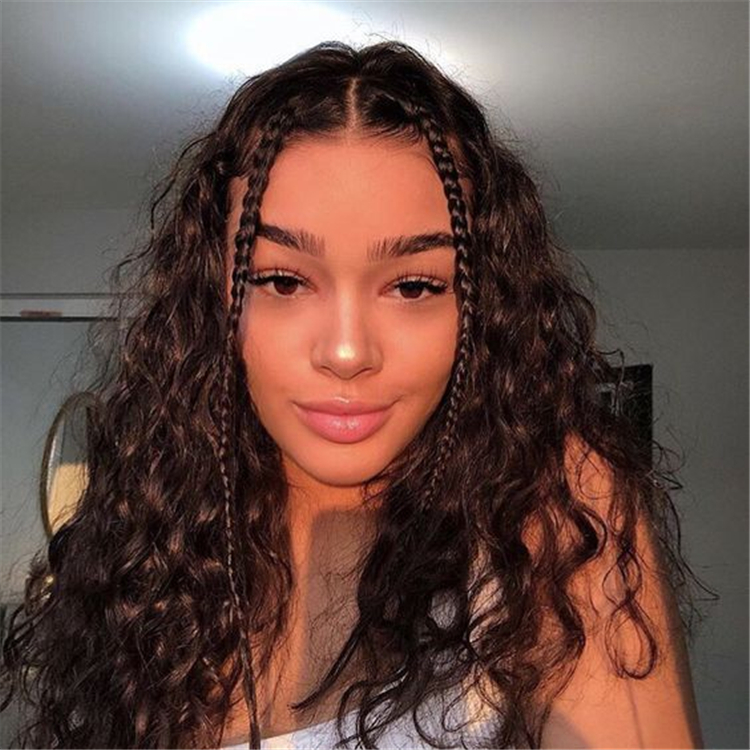 Cute And Pretty Curly Hairstyles To Look Stylish In 2020 - Page 10 ...