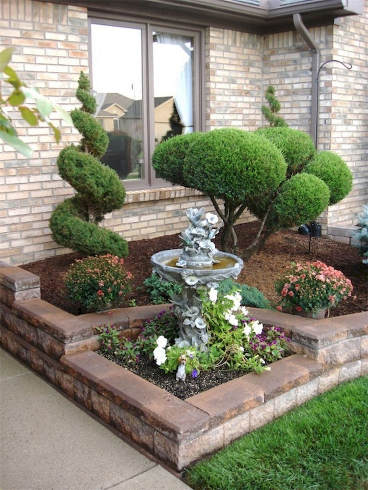50 Gorgeous And Fresh Front Yard Landscaping Ideas For ...