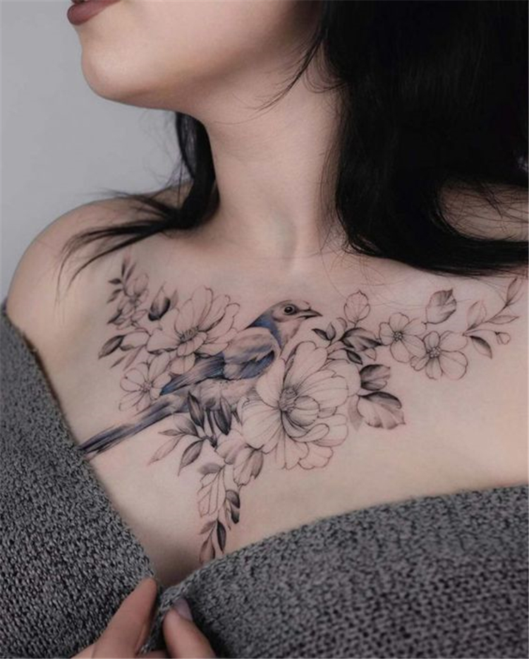 Amazing And Attractive Floral Tattoo Designs You Must Love; Floral Tattoo; Amazing Tattoo; Flower Tattoo; Tattoo Designs; Tattoo Ideas; Tattoo; Back Floral Tattoo; High thigh Floral Tattoo; #floraltattoo #flowertattoo #rosetattoo #tattoodesign #tattoo