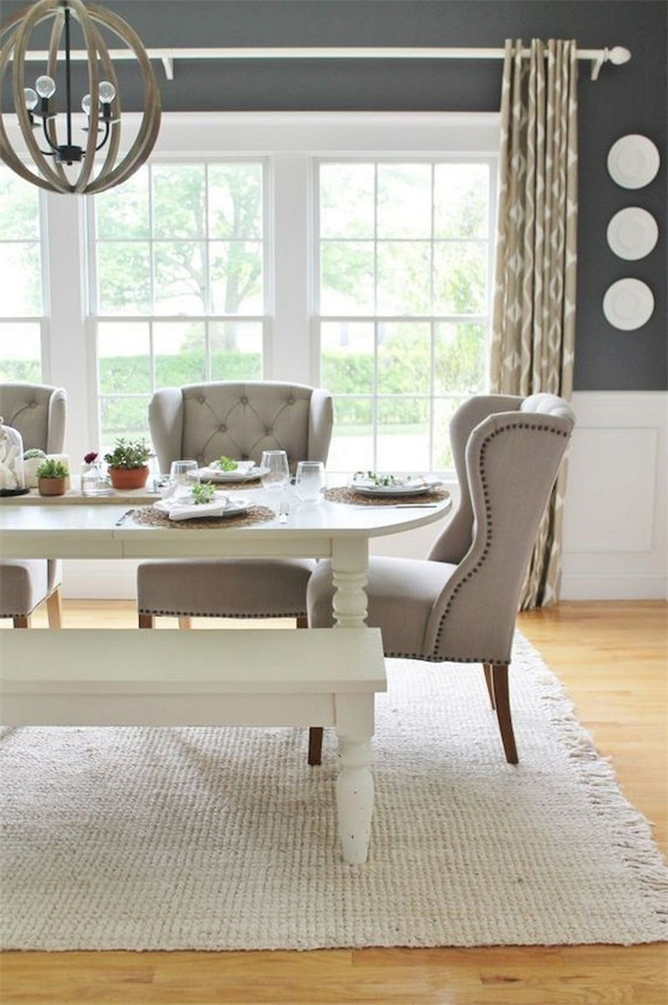 Stunning And Classic Farmhouse Dining Room Design Ideas For Your Inspiration; Dining Room; Dining Room Design; Classic Dining Room; Home Decor; Home Design; Dining Room Decor; #diningroom #diningroomdesign #diningroomdecor #homedecor #decor
