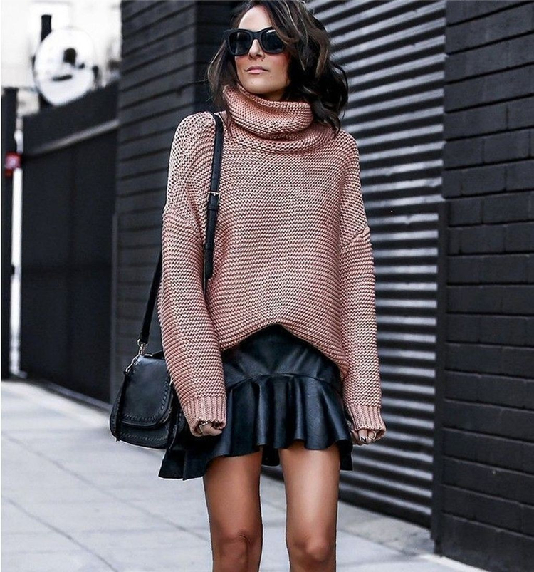 Trendy And Comfortable Spring Sweater Outfit Ideas You Should Copy Right Now; Spring Outifts; Spring Sweater; Spring Sweater Outfits; Spring Outfit Ideas; Comfortable Spring Outfits; Spring Dreesy; Spring Outfits Ideas; Sweater; #sweater #springoutfits #springsweater #springdress #outfits #chicoutfits