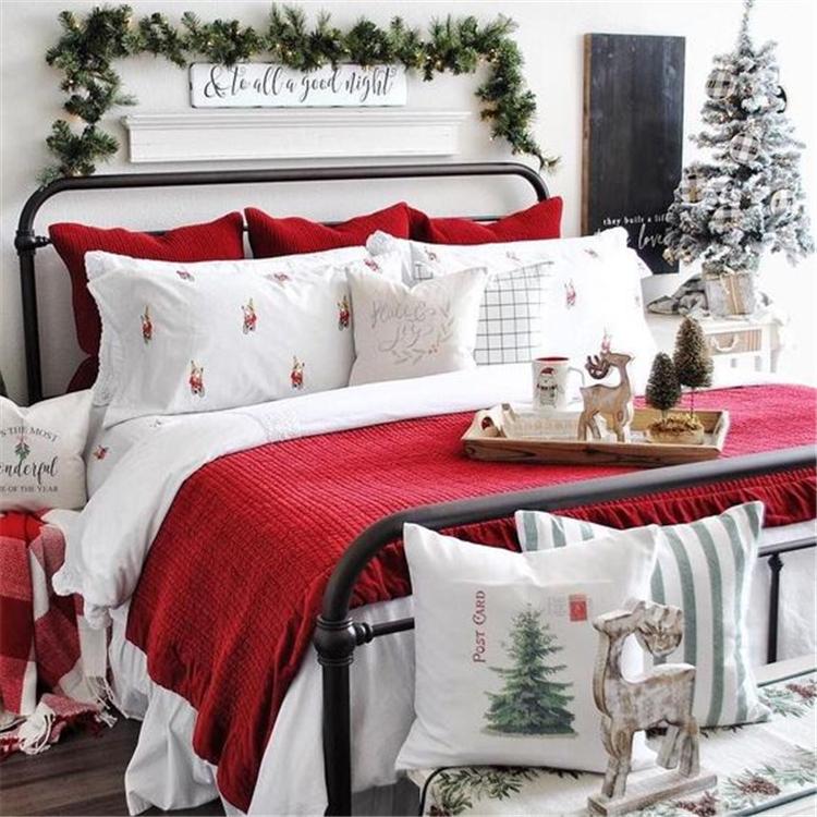 Christmas; Bedroom Decoration; Bedroom Decor; Winter Bedroom Decoration; Comfortable Bedroom; Christmas Bedroom Decoration; #Bedroomdecor #Bedroom #Christmasbedroom #Winterbedroom