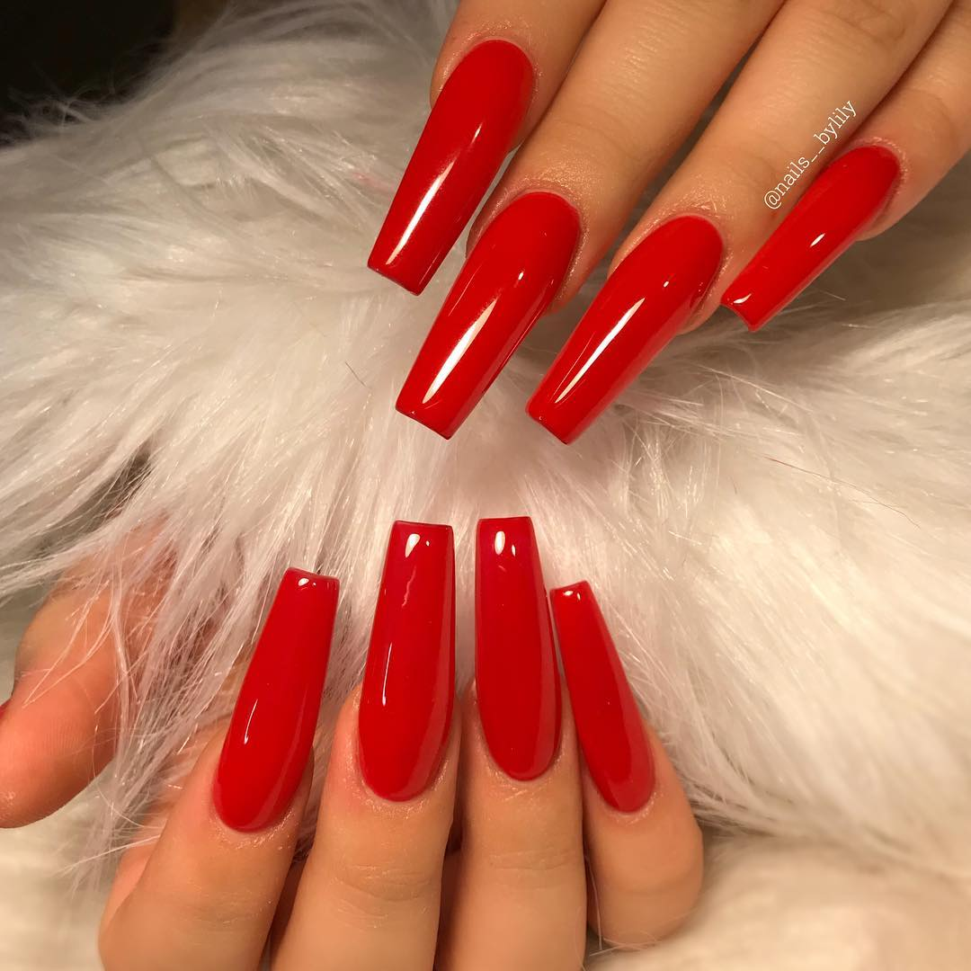 spring square acrylic nails designs; square acrylic nails; spring nails; white nails; pink nails; red nails; acrylic nails; square nails; square acrylic nails designs; long nails;blingnails#nailsart