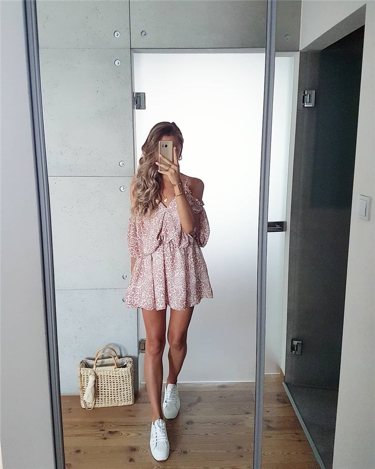 Pretty Summer Dress Total Looks You Will Fall In Love With; Summer Dress; Summer Outfits; Summer; One-piece Dress; Fashionable Dress; Casual Dress; Stylish Dress; Lace Dress; Chiffon Dress; Short Dress; Mini Skirt; Pretty Dress;