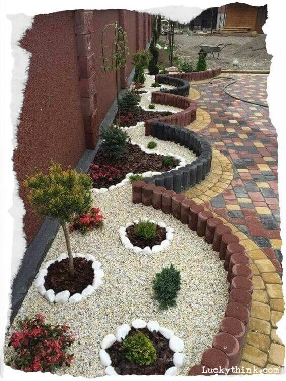 Amazing Garden Decorations With Rocks And Stones; Garden Decoration; Garden Decoration With Rocks And Stones; Rocks And Stones; Rocks And Stones Decoration;