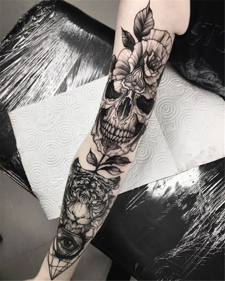 Awesome Sleeve Tattoos For Women Which You Will In Love With; Awesome Sleeve Tattoos; Sleeve Tattoos; Sleeve Tattoos For Women; Arm Tattoos; Arm Sleeve Tattoo; Floral Sleeve Tattoo; Inspirational Sleeve Tattoos; Sleeve;