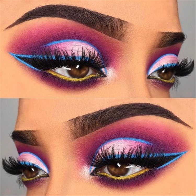 Holiday Eye Makeup Designs To Make You Holiday Special; Holiday Eye Makeup Designs; Smoking Eyes; Eye Shadows; Holiday Makeup; Holiday Eye Makeup Ideas;