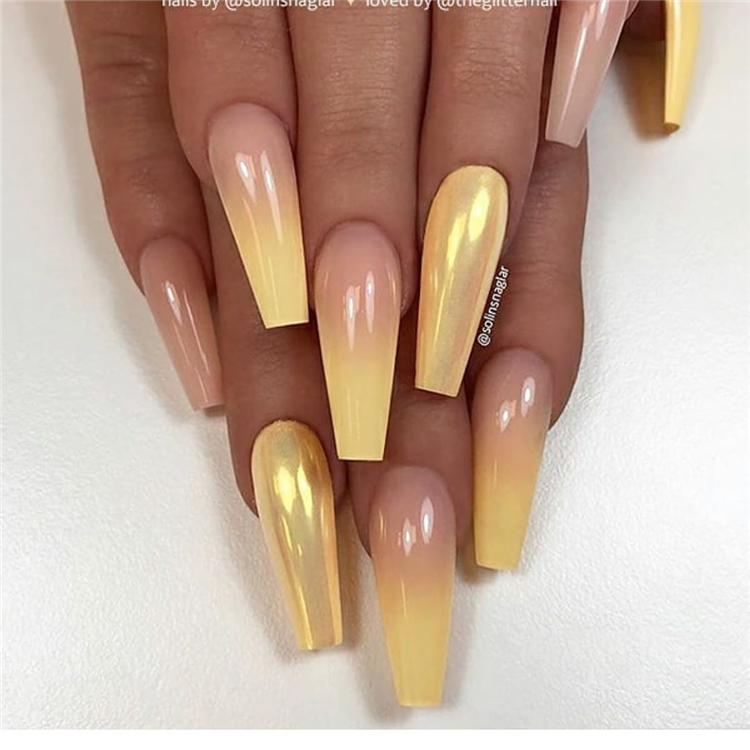 Stunning And Gorgeous Summer Coffin Acrylic Nail Designs For Your Inspiration; Summer Coffin Acrylic Nail; Coffin Acrylic Nail; Coffin Nail; Acrylic Nail; Summer Coffin Nail; Summer Coffin Acrylic Nail Designs; Matte Coffin Acrylic Nails Designs; Long Nails;