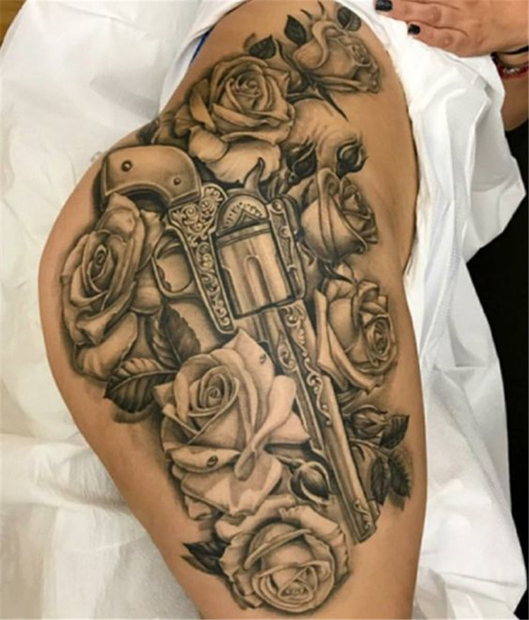 Unique And Sexy Hip Tattoo Designs You Must Have; Hip Tattoo; Hip Tattoo Designs; Sexy Hip Tattoo; Unique Hip Tattoo; Floral Hip Tattoo; Hip; Tattoo;