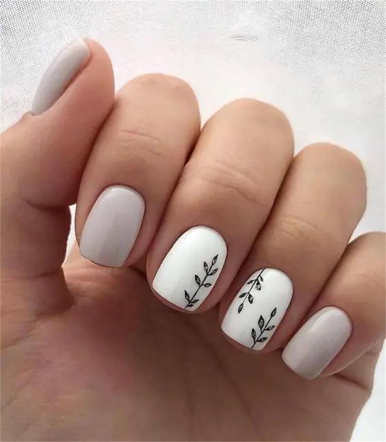 Stunning White Nail Designs For Your Inspiration; Stunning White Nail Art Designs; Beautiful White Nail; White Nail; Nail Art Designs; White Coffin Nail; Square White Nail; Stiletto Nail; Almond Nail #nail #nailart #Coffinwhitenail #blacknail #whitenail #coffinnail #squarenail #stilettonail