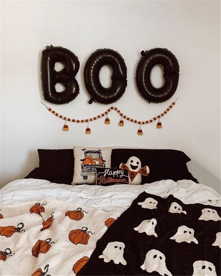 Halloween,pumpkin decoration,horror on the wall,Halloween decoration in the bedroom,Halloween pumpkin decoration,living room decoration