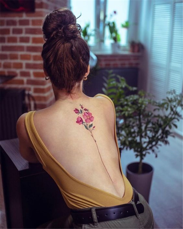 Tattoos, Specific Positions ,Flower tattoo,Small fresh tattoos ,on collarbone,Necklace tattoos ,braided twist,on ankle
